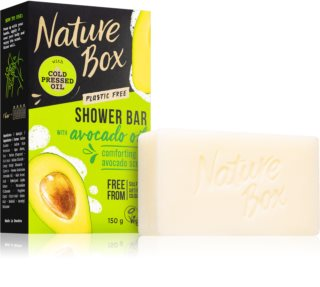 Nature Box Shower Bar Avocado Oil Luonnollinen Saippuapala