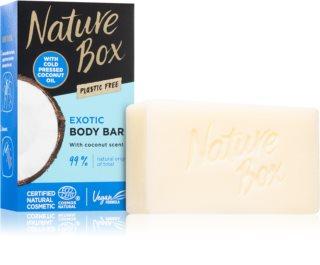 Nature Box Coconut jabón limpiador sólido