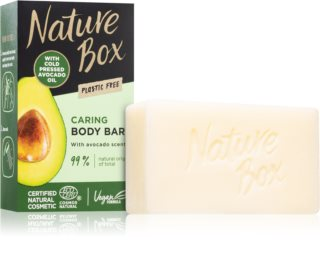 Nature Box Avocado sabonete de limpeza sólido