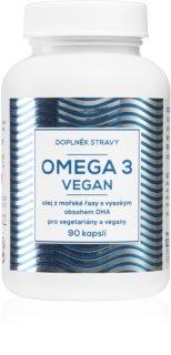 NATURVITA OMEGA 3 VEGAN olej z mořské řasy s vysokým obsahem DHA