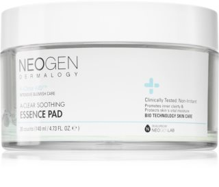 Neogen Dermalogy A-Clear Soothing Essence Pad Exfoliating Cotton Pads with Soothing Effect