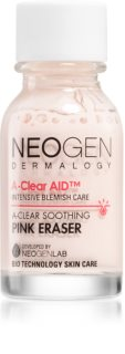 Neogen Dermalogy A-Clear Soothing Pink Eraser soin local anti-acné