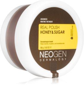 Neogen Dermalogy Real Polish Honey & Sugar Zuckerpeeling für das Gesicht mit Honig