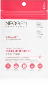 Neogen Dermalogy A-Clear Soothing Spot Patch reinigendes Pflaster für Aknehaut