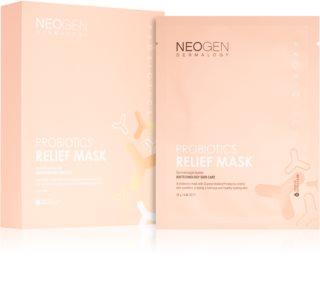 Neogen Dermalogy Probiotics Relief Mask mască textilă calmantă cu probiotice