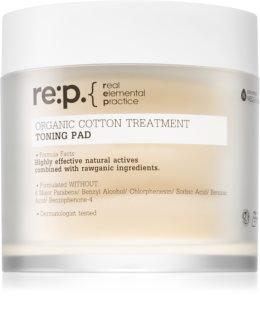 Neogen Dermalogy RE:P by Neogen Organic Cotton Treatment Toning Pad čisticí tampónky pro zklidnění a posílení citlivé pleti