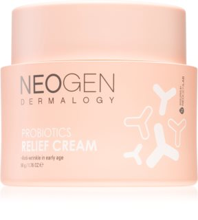 Neogen Dermalogy Probiotics Relief Cream crema pentru fermitate si stralucire pentru primele riduri