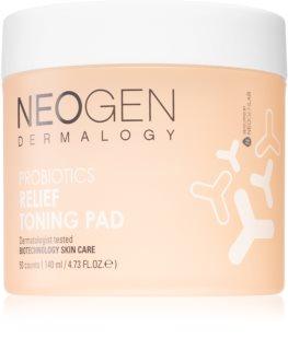 Neogen Dermalogy Probiotics Relief Toning Pad Pamučne blazinice za vrlo suho i osjetljivo lice