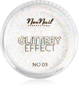 NeoNail Glittery Effect No. 03 Glitzer-Puder für Nägel