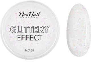 NeoNail Glittery Effect No. 03 poudre pailletée ongles