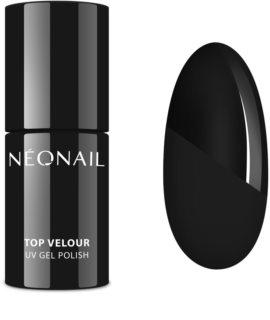 NeoNail Top Velour  гел топ лак за нокти