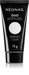NeoNail Duo Acrylgel Perfect Clear τζελ για τζελ και ακρυλικά νύχια