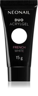 NeoNail Duo Acrylgel French White gel per unghie in gel e acriliche