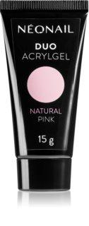 NeoNail Duo Acrylgel Natural Pink τζελ για τζελ και ακρυλικά νύχια