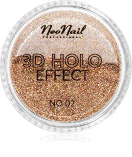 NeoNail 3D Holo Effect Skimrande puder för naglar
