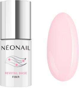 NeoNail Revital Base Fiber Βάση για τα νύχια σε μορφή τζελ για τζελ και ακρυλικά νύχια