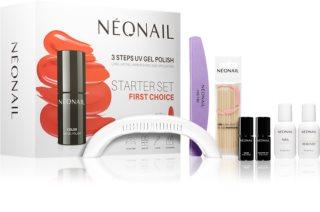 NeoNail First Choice Starter Set Lahjasetti Kynsille