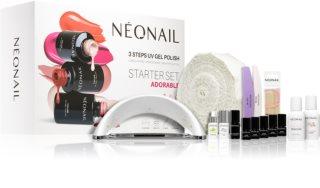 NeoNail Adorable Starter Set Lahjasetti Kynsille