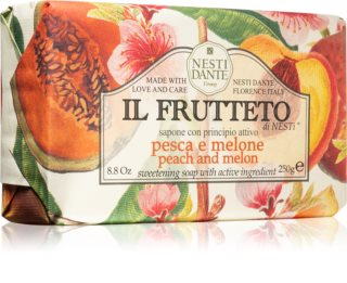 Nesti Dante Il Frutteto Peach and Melon Natural Soap