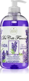 Nesti Dante Dei Colli Fiorentini Lavender Relaxing жидкое мыло для рук с дозатором