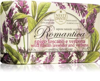Nesti Dante Romantica Wild Tuscan Lavender and Verbena přírodní mýdlo
