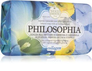Nesti Dante Philosophia Collagen with vegetable collagen & ginseng savon naturel au collagène