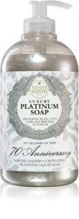 Nesti Dante Platinum sapone liquido per le mani con dosatore