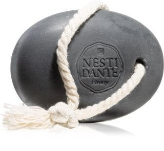 Nesti Dante Luxury Black Body Cleanser on a Rope Natural Soap