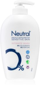Neutral Sensitive Skin gel suave para higiene íntima