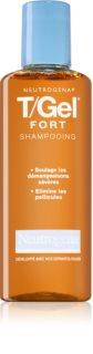 Neutrogena T/Gel Forte shampoing antipelliculaire pour cuir chevelu sec avec démangeaisons