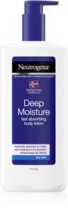 Neutrogena Norwegian Formula® Deep Moisture глубоко увлажняющее молочко для тела для сухой кожи