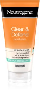 Neutrogena Clear & Defend crema hidratante no grasa