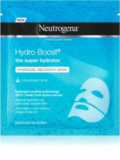 Neutrogena Hydro Boost® Face гидрогелевая маска для лица