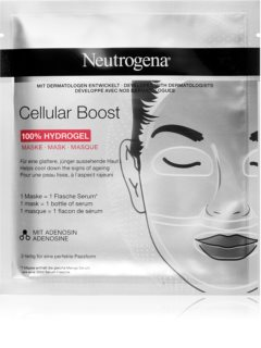 Neutrogena Cellular Boost Intensive Hydrogel Mask with Smoothing Effect