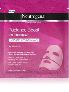 Neutrogena Radiance Boost masque illuminateur visage