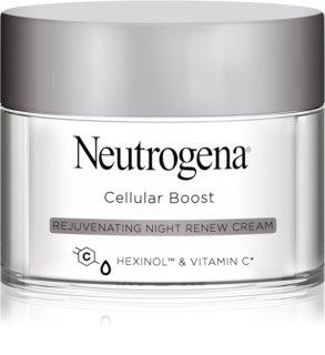 Neutrogena Cellular Boost подмладяващ нощен крем