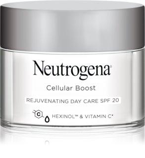 Neutrogena Cellular Boost подмладяващ дневен крем SPF 20