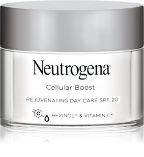 Neutrogena Cellular Boost омолоджуючий денний крем SPF 20