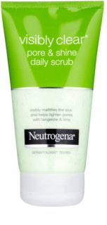 Neutrogena Visibly Clear Pore & Shine gommage visage à usage quotidien