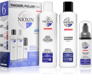 Nioxin System 6 Economy Pack III. (For Thinning Hair) Unisex