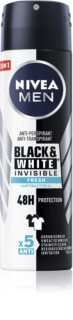 Nivea Men Invisible Black & White antyprespirant w sprayu