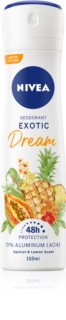 Nivea Exotic Dream Deodorantspray utan aluminiuminnehåll