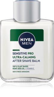 Nivea Men Sensitive Hemp бальзам після гоління з конопляною олією