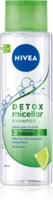 Nivea Pure Detox Micellar osviežujúci micelárny šampón