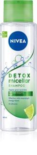 Nivea Pure Detox Micellar champú refrescante micelar
