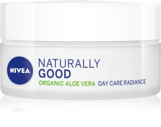 Nivea Naturally Good crema giorno illuminante con aloe vera