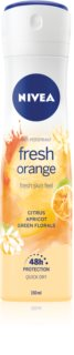 Nivea Fresh Blends Fresh Orange antiperspirant ve spreji s 48hodinovým účinkem