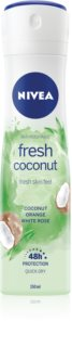 Nivea Fresh Blends Fresh Coconut antitranspirante en spray