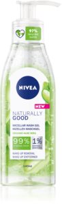 Nivea Naturally Good gel de limpeza micelar