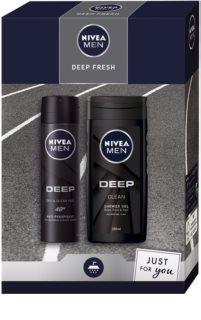 Nivea Men Deep darilni set (za telo)